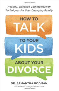 how to talk to your kids about your divorce book