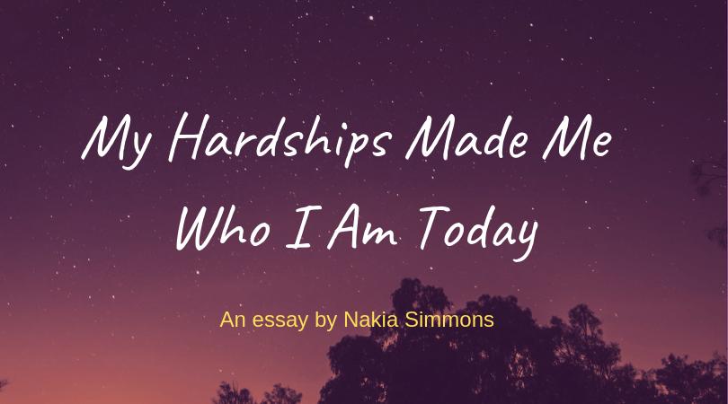 Essay by Nakia Simmons