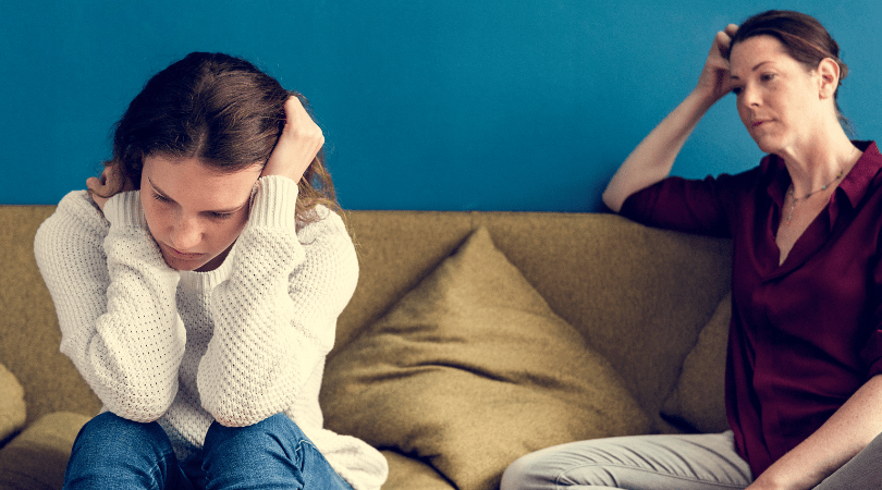 Teen worried about divorce