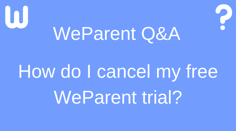 canceling free trial